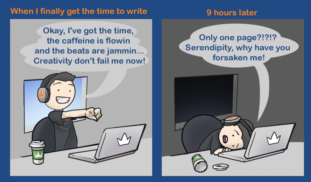 Writers Block by Dave Chesson of Kindlepreneur