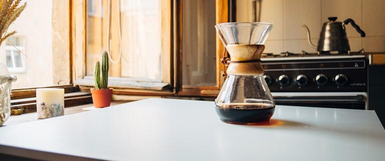 coffee maker and tea