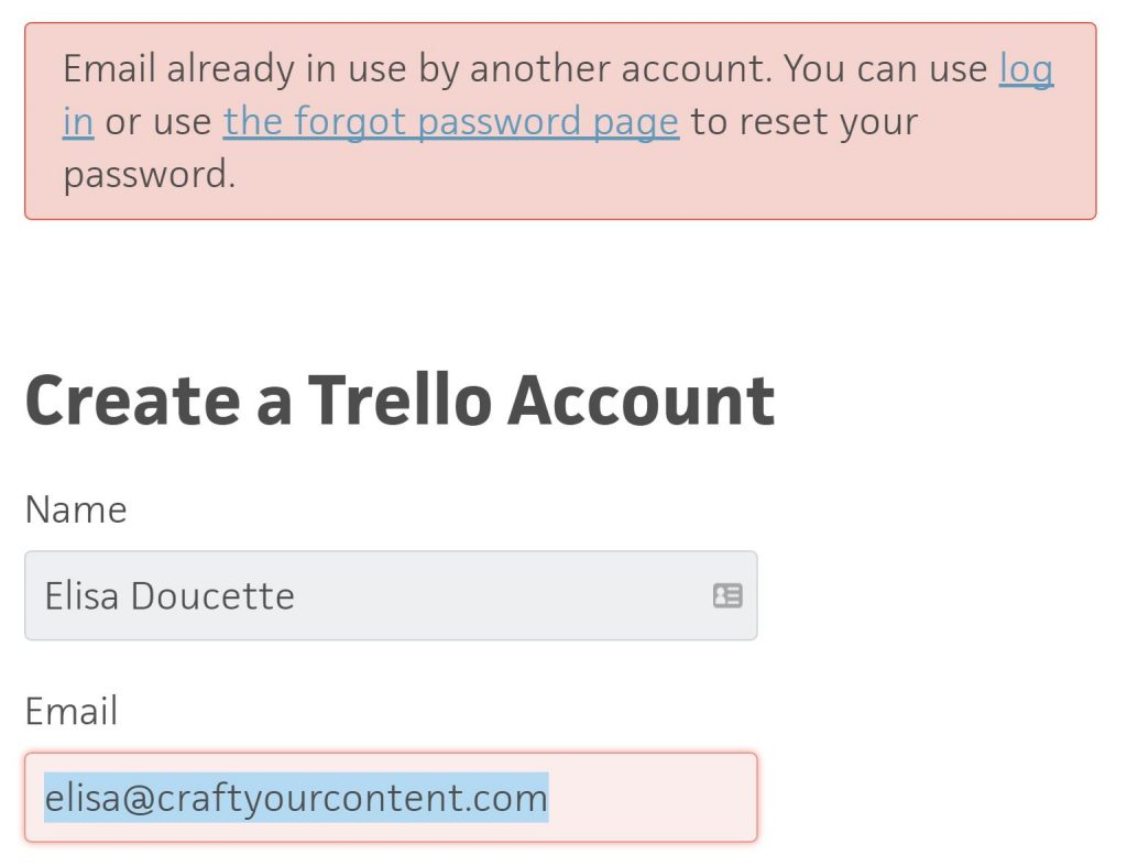 Trello Account