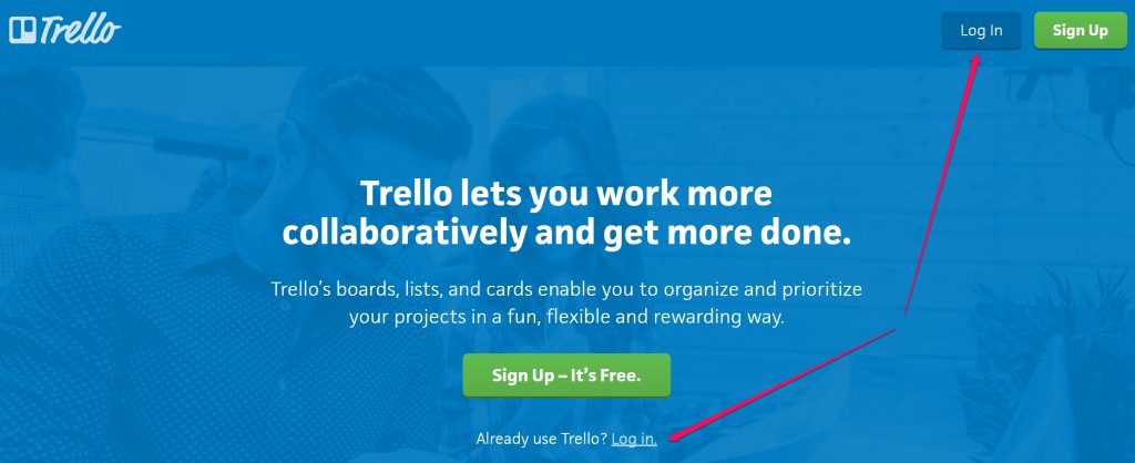 Trello Log In