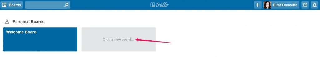 Trello as an editorial calendar