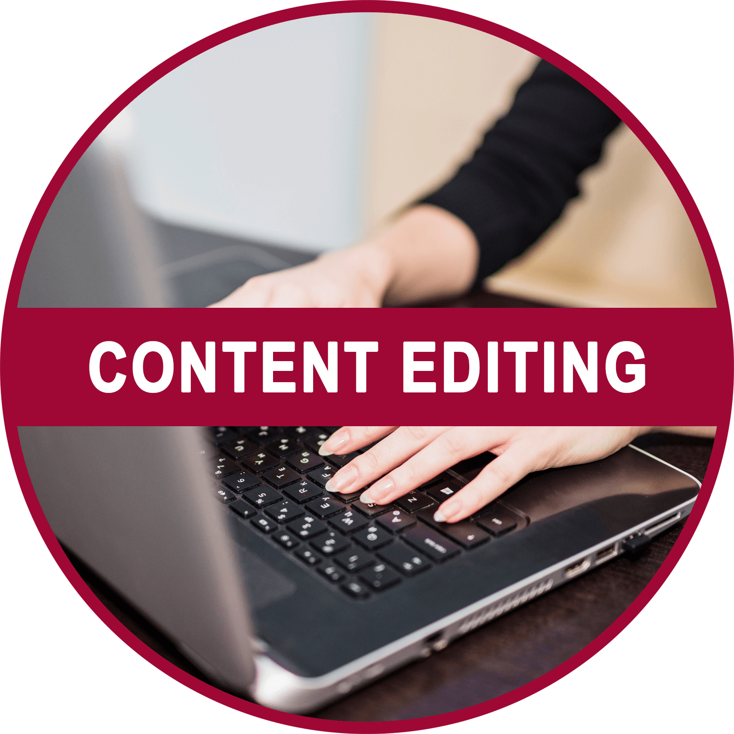 Homepage Content Editing Icon