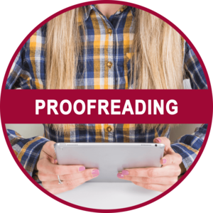 Proofreading Icon Homepage