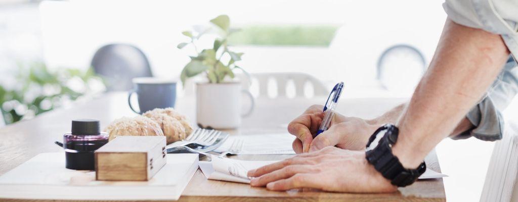 writing lessons beginner
