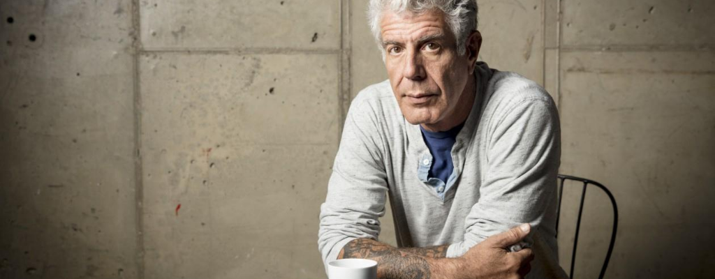 writing of anthony bourdain