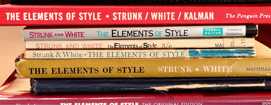 elements of style writing
