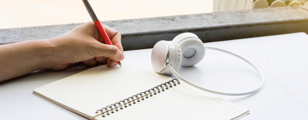 podcasts improve writing